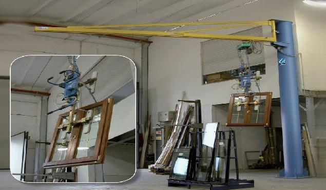 CIT CM1 vákuumdaru üveglapokhoz, üvegezett szerkezetekhez