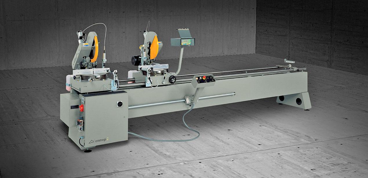 A képen a termék, egy Emmegi Norma VIS daraboló fűrész látható.