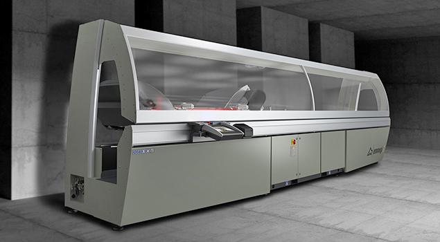 A képen a termék, egy Emmegi Precision RS/RS-HS daraboló fűrész látható.