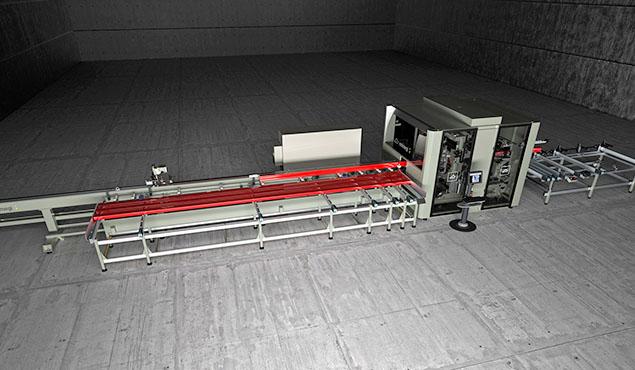 A képen a termék, egy Emmegi Quadra L1 CNC megmunkáló központ látható.
