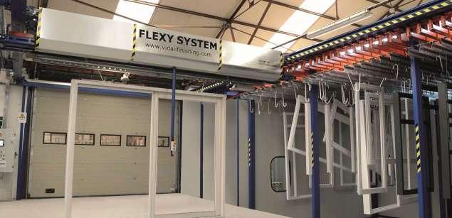 A képen a termék, egy Vidali Flexy System patented model látható.