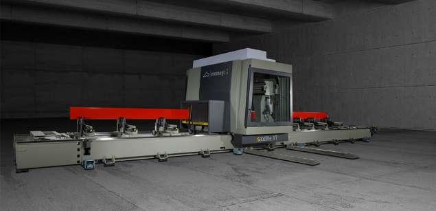 A képen a termék, egy Emmegi Satellite XT CNC megmunkáló központ látható.