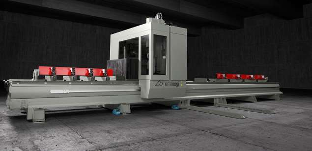 A képen a termék, egy Emmegi Diamant CNC megmunkáló központ látható.