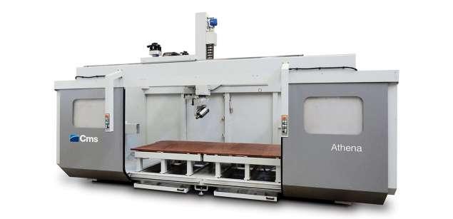 A képen a termék, egy CMS Athena - CNC Műanyag Megmunkáló látható.