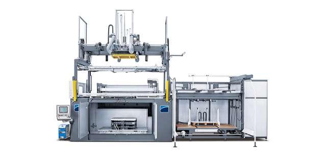 A képen a termék, egy CMS BR5 S - Vákuumformázó gép látható.