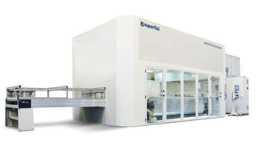 A képen a termék, egy Superfici Valtorta Bravorobot P2 - automata festőrobot látható.