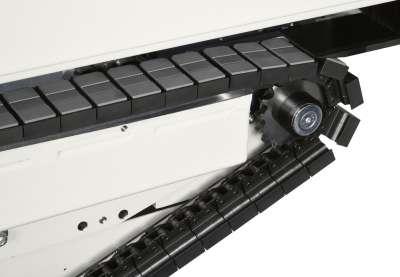 A képen az olimpic k230 panel továbbító rendszere látható.