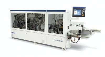 A képen az scm olimpic k 560 típusú automata élzárógép látható.