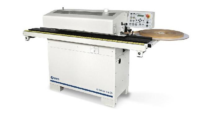 A képen a termék, egy minimax me 20 élzáró gép látható.