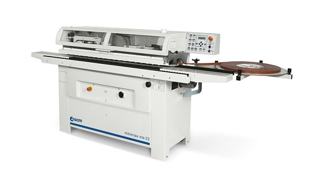 A képen a termék, egy minimax me 22 élzáró gép  látható.