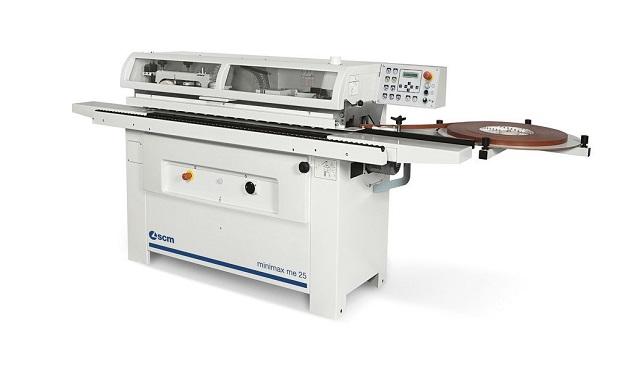 A képen a termék, egy minimax me 25 élzáró gép látható.