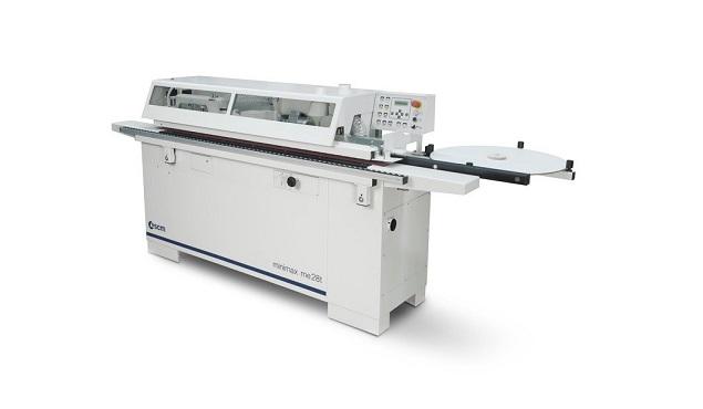 A képen a termék, egy minimax me 28T élzáró gép látható.