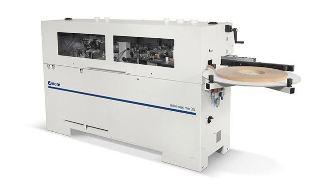A képen a termék, egy minimax me 35 élzáró gép látható.