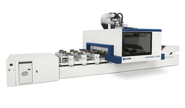 A képen a termék, egy Morbidelli Author M100 CNC megmunkáló központ látható.
