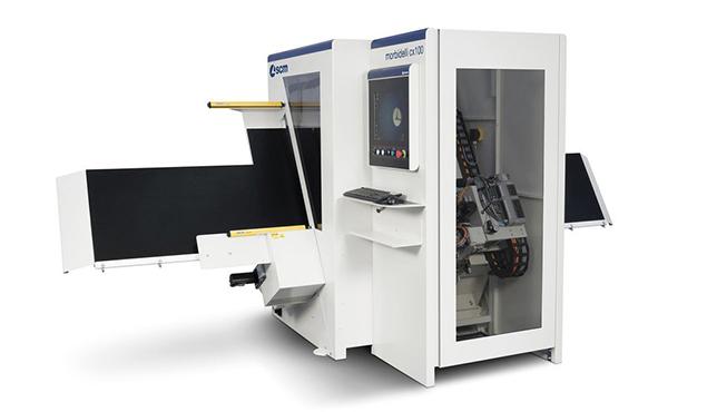 A képen a termék, egy Morbidelli cx100, cx200 fúróközpont látható.