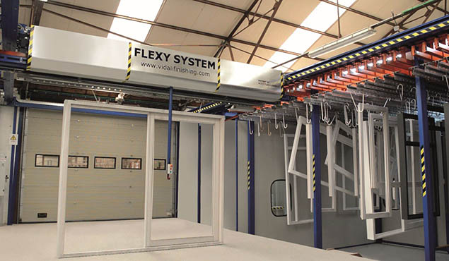 Vidali Flexy System patented model