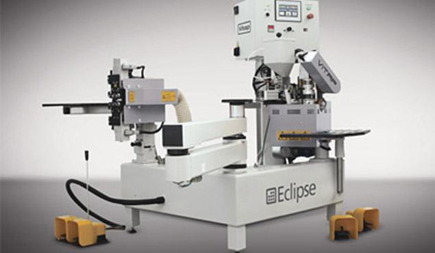 A képen a termék, egy VITAP eclipse félautomata íves élzárógép  látható.
