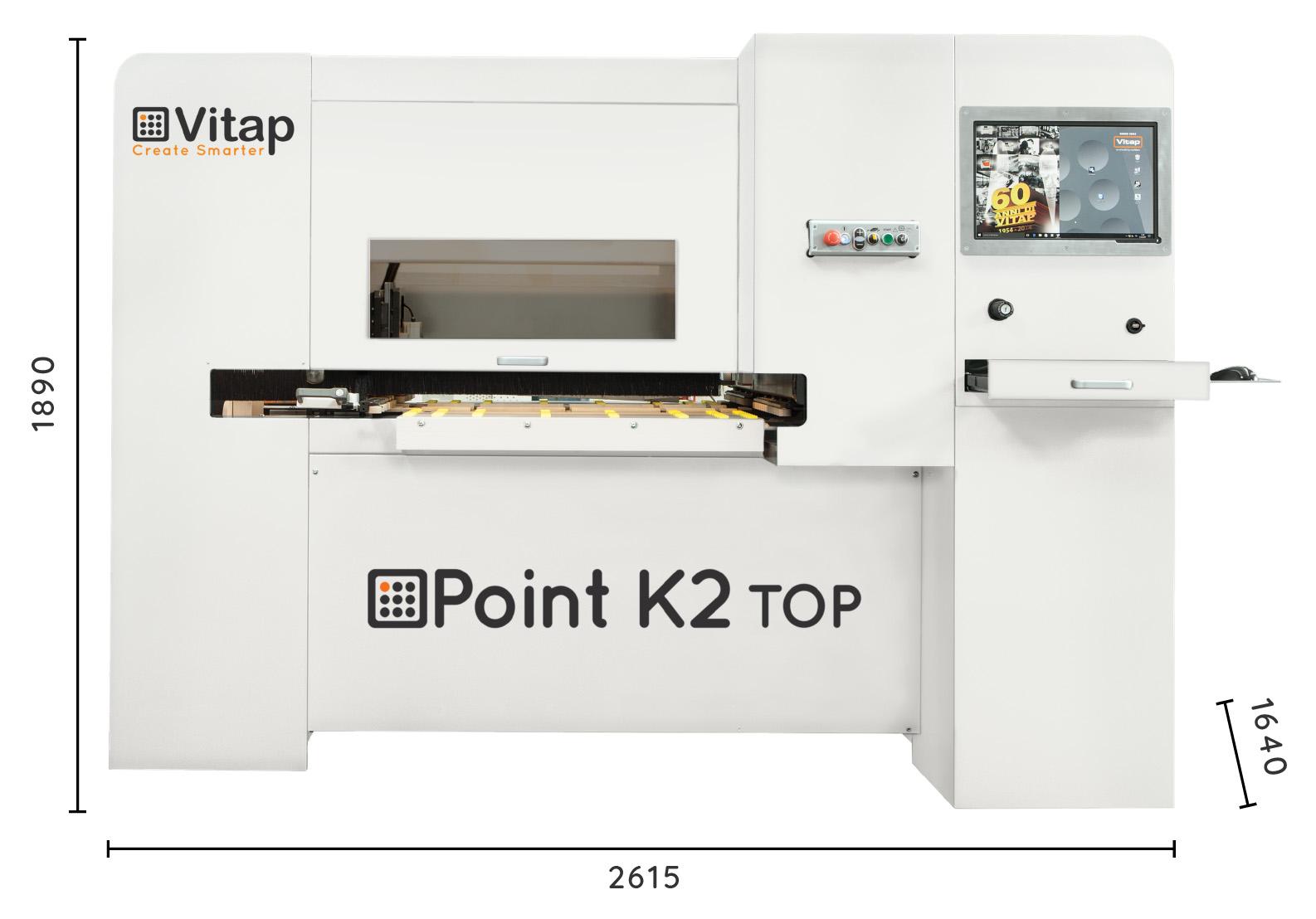 A képen a termék, egy VITAP Point K2 Top látható.